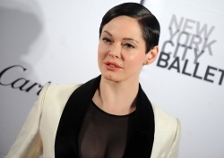 Rose McGowan - 2015 New York City Ballet Fall Gala @ Lincoln Center in NYC - 09/30/15