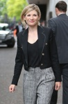 Jodie Whittaker - leaving ITV Studios in London 8/8/17