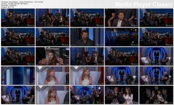 Zoe Saldana - Jimmy Kimmel Live - 7-21-14