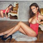 Gatas QB - Luisa Gajduskova (Lujza Gajduskova) Playboy Croácia Março 2016
