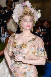 Haley Bennett -                     Costume Institute Gala New York City May 1st 2017.