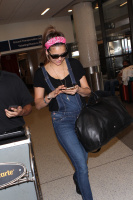 Nina Dobrev at LAX Airport (March 27) MddzB50B
