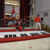 Interactive piano stage NAJaAMnS