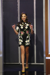 Gal Gadot - Jimmy Kimmel Live: March 15th 2016