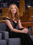 Jessica Chastain - on The Tonight Show with Jimmy Fallon 3/21/17