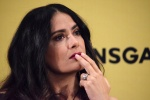 "Salma Hayek -                 ""How To Be a Latin Lover"" Press Conference Mexico City May 3rd 2017."
