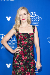Emily Blunt - D23 Expo 2017 Day Two @ the Anaheim Convention Center in Anaheim - 07/15/17
