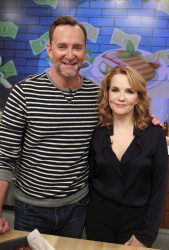 Lea Thompson - The Chew: March 6th 2017
