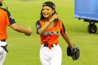 Christina Milian - 2017 MLB All-Star Legends & Celebrity Softball, Marlins Park, Miami 7/9/17