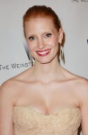 Jessica Chastain - InStyle/Warner Brothers Golden Globes Party 1/16/11