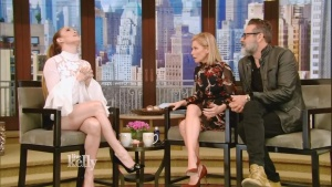 Jennifer Lopez LIVE with Kelly 03/20/2017