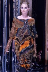 Elsa Hosk - Balmain Show Paris Fashion Week - March 2nd 2017