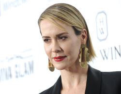 Sarah Paulson - 2015 amfAR's Inspiration Gala @ Milk Studios in Hollywood - 10/29/15