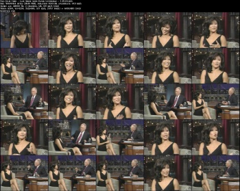 Julie Chen - Late Show with David Letterman - 7-19-05