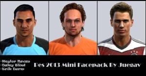 Download PES 2013 Mini facepack by juegav