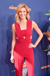 Erin Andrews - Nickelodeon Kids Choice Sports Awards 7/16/15
