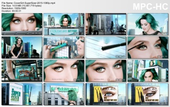 Katy Perry - New Super Sizer Mascara Covergirl Commercial (2015)