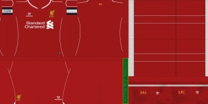 PES 2013 Liverpool Home Kit 2014/15 by argyris