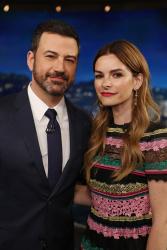 Kelly Oxford - Jimmy Kimmel Live: April 11th 2017
