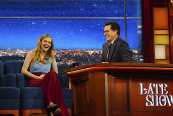 Zoey Deutch - The Late Show with Stephen Colbert: February 27th 2017