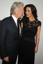 Catherine Zeta Jones - Jazz At Lincoln Center's Ertegun Atrium & Ertegun Hall Of Fame Grand Reopening @ Jazz at Lincoln Center in NYC - 12/17/15
