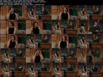 Lauren Cohan - Late Late Show with Craig Ferguson - 3-11-14