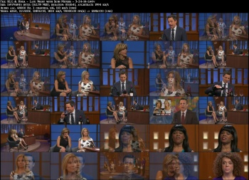 Kathie Lee Gifford & Hoda Kotb - Late Night with Seth Meyers - 3-24-14