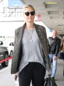 Maria Sharapova - At LAX Airport In Los Angeles - February 8th 2017