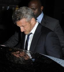 Sean Penn - Charlize Theron and Sean Penn - seen leaving Royal Festival Hall. London - February 16, 2015 (153xHQ) 521cXSjf