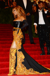 Beyonce - 2013 Met Gala in NYC 5/6/13