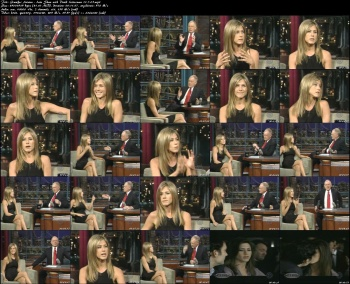 Jennifer Aniston - Late Show with David Letterman 11-7-05