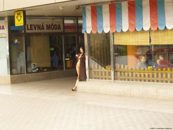 Name Photoset: Alexandra G - 04 - Various Places Including A Train Station