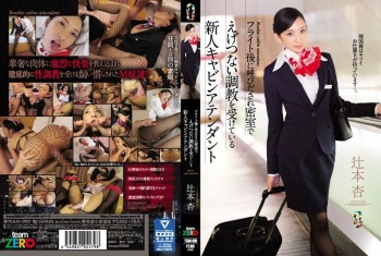 [TEAM-090] Tsujimoto An - The Fresh Face Cabin Attendant Gets Her Breaking In When She's Called To The Office After Her Flight