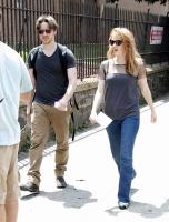 Джессика Честейн, фото 2293. Jessica Chastain 'The Disappearance of Eleanor Rigby' Set in New York City - July 24, 2012, foto 2293