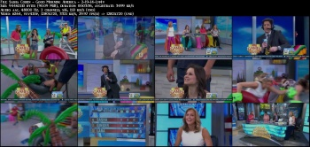 Sasha Cohen - Good Morning America - 2-19-14