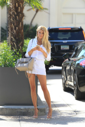 Charlotte McKinney - Shopping in LA 7/31/15