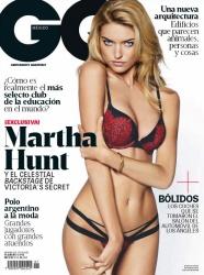 FOTOS: Martha Hunt Revista GQ Magazine México Febrero 2015 1