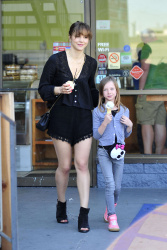 Katharine McPhee Getting Ice Cream in Santa Monica - 3/16/15