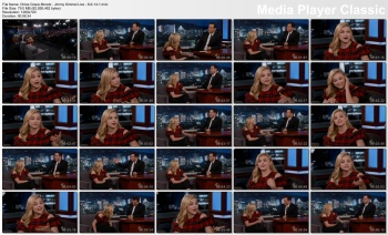 Chloe Grace Moretz - Jimmy Kimmel Live - 8-6-14