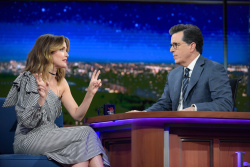 Rose Byrne - The Late Show with Stephen Colbert: April 19th 2017