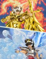 Pegasus Seiya - Sagittarius Aiolos Effect Parts Set AczDab8L