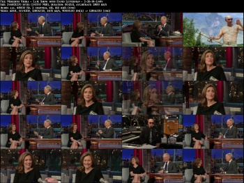 Meredith Vieira - Late Show with David Letterman - 2-26-14