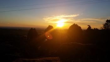 24/01/2016. Hoyo de Manzanares-Sierra de Hoyo de Manzanares. Parking del centro de hoyo: 8:00 1muirWe5