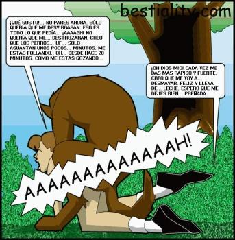 cartoon beastiality