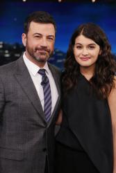 Sofia Black-D'Elia - Jimmy Kimmel Live: March 14th 2017