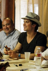 Ian Somerhalder - at Built of Barnwood's one-year anniversary celebration at Century Hall in Bay St. Louis - March 24, 2013 - 9xHQ Cu5d13Gc
