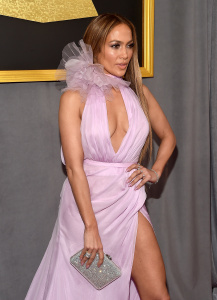 Jennifer Lopez - The 59th Grammy Awards at STAPLES Center in Los Angeles - February 12th 2017