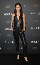 Jac Jagaciak - Paris Fashion Week Spring/Summer 2016: Vogue 95th Anniversary Party Photocall @ 51 Avenue d'Iena in Paris - 10/03/15