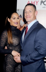 Nikki Bella - Sisters New York Premiere @ Ziegfeld Theater in NYC - 12/08/15