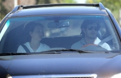 Leighton Meester - leaves her house in Beverly Hills 3/16/13